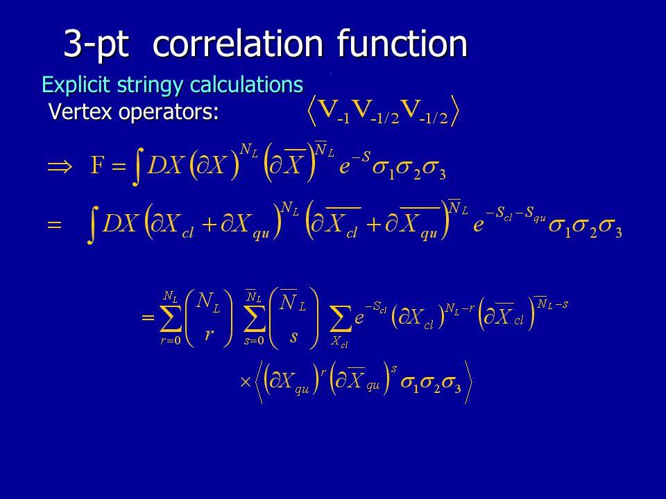 3-pt correlation function