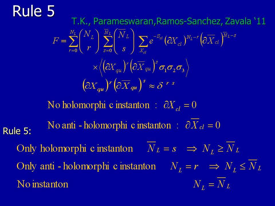 Rule 5 T.K., Parameswaran,Ramos-Sanchez, Zavala '11 Rule 5: 43
