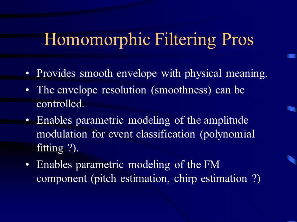 Homomorphic Filtering Pros