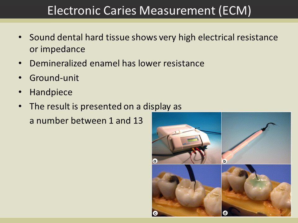 Electronic Caries Measurement (ECM)