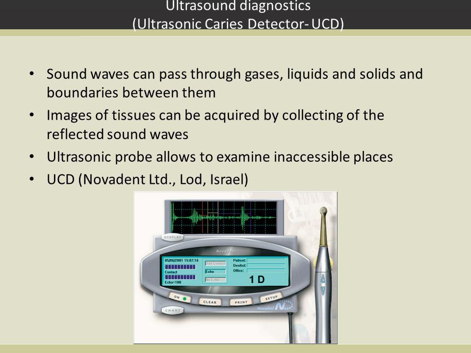 Ultrasound diagnostics (Ultrasonic Caries Detector- UCD)