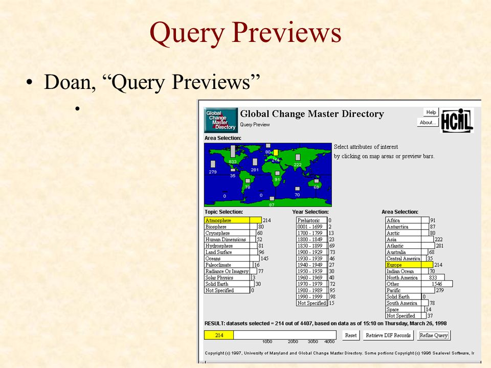 Query Previews Doan, Query Previews