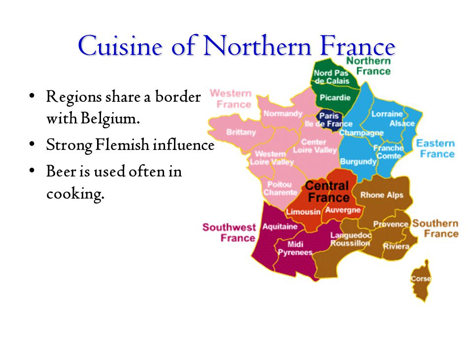 Cuisine of Northern France