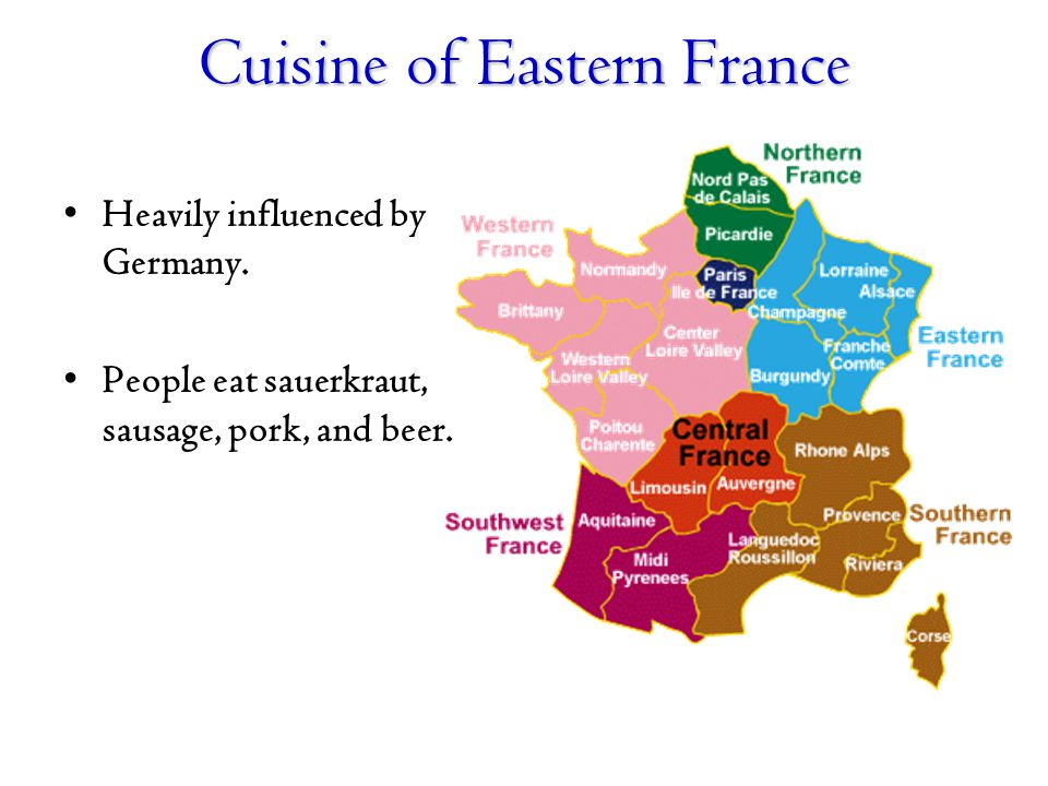Cuisine of Eastern France