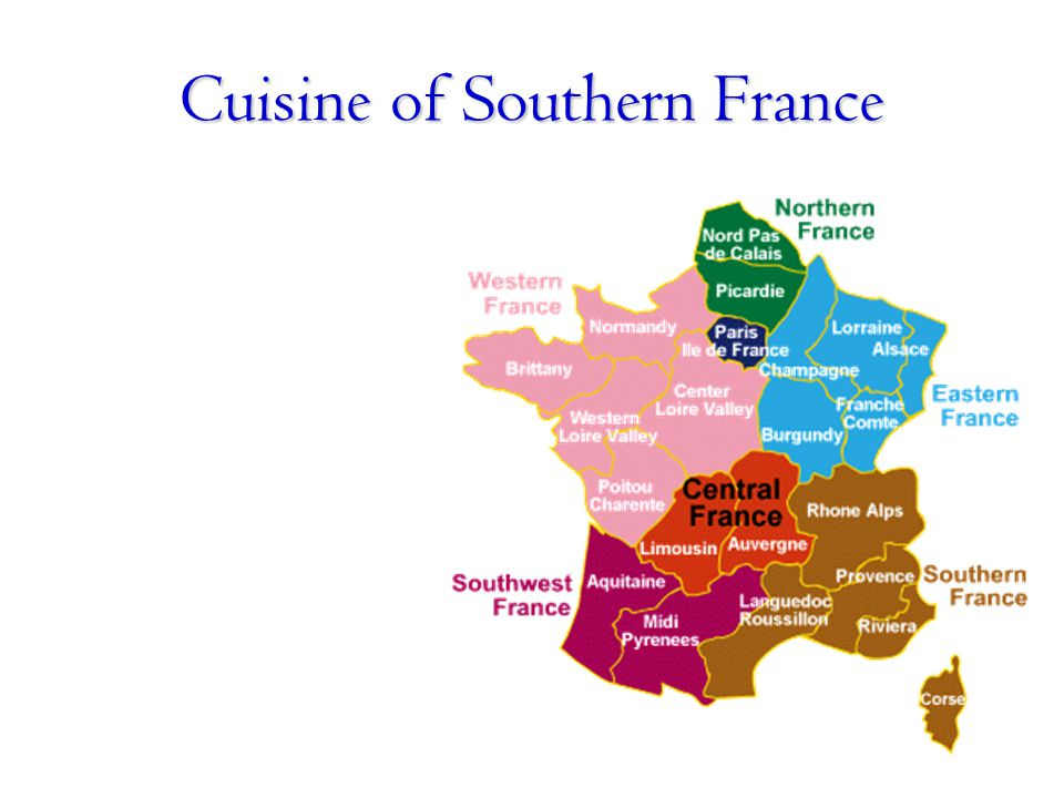 Cuisine of Southern France