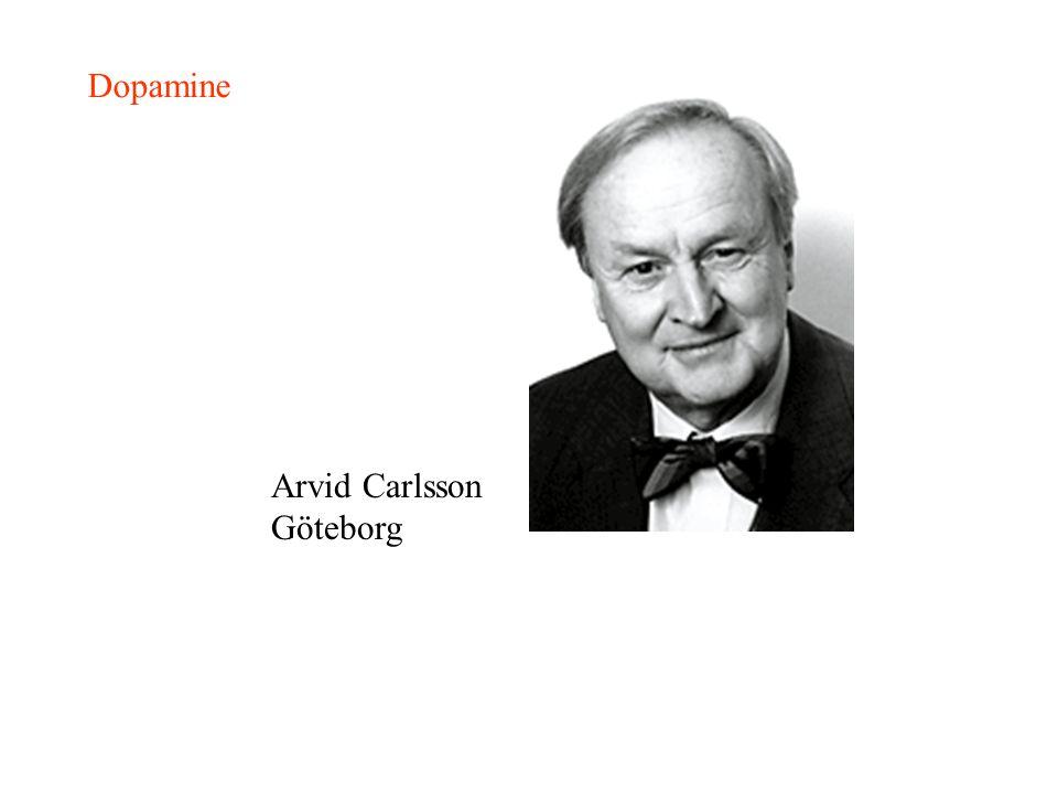 Dopamine Arvid Carlsson Göteborg
