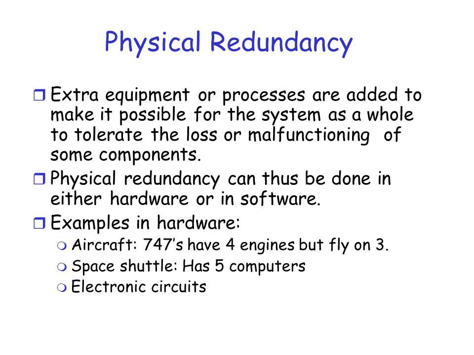 Physical Redundancy