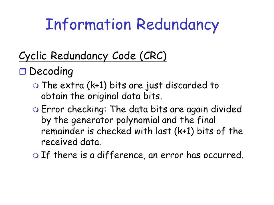 Information Redundancy