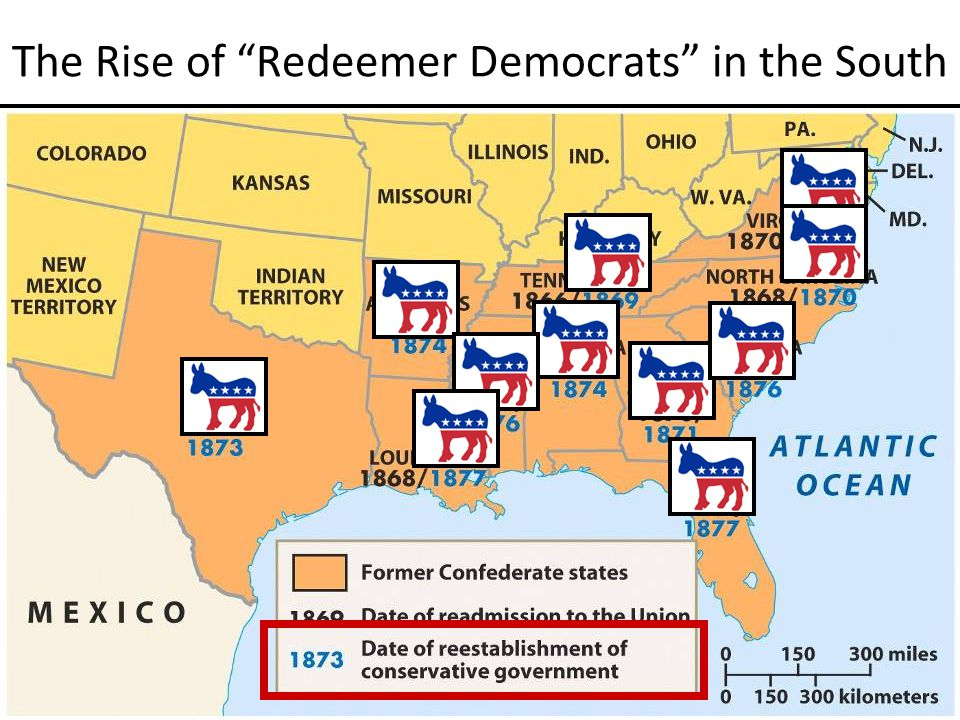 The Rise of Redeemer Democrats in the South