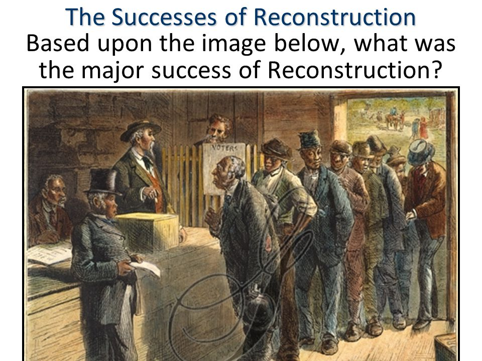 The Successes of Reconstruction