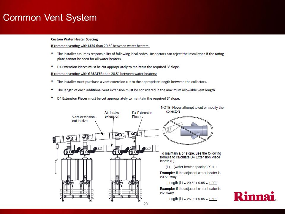Common Vent System