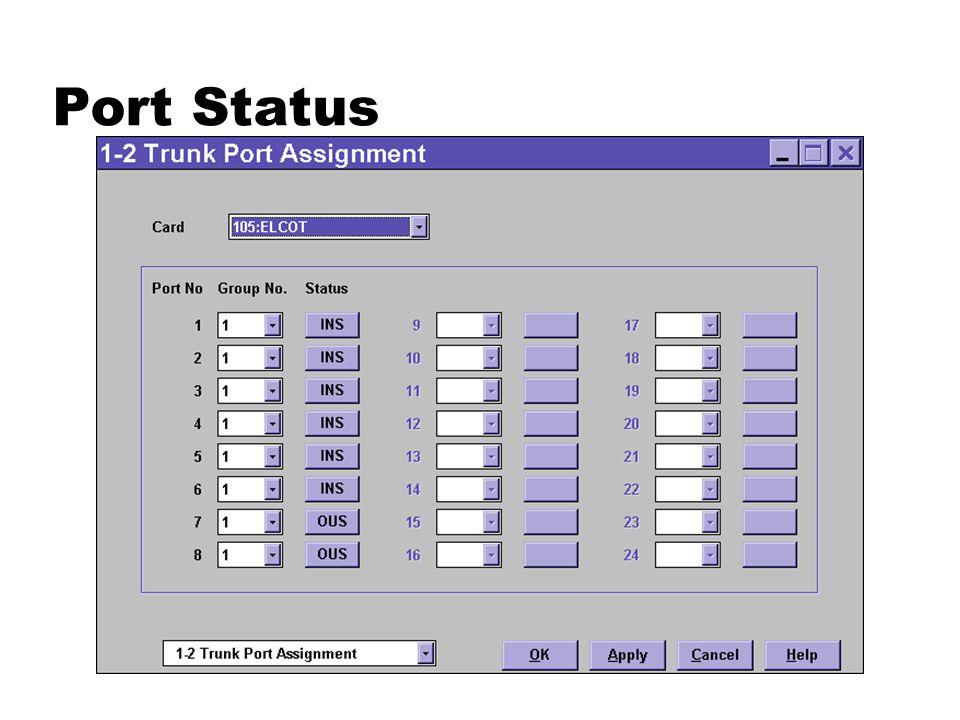 Port Status