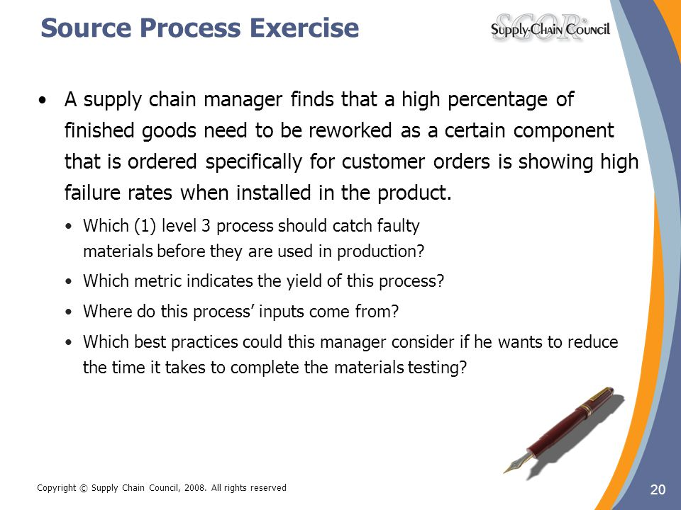 Source Process Exercise