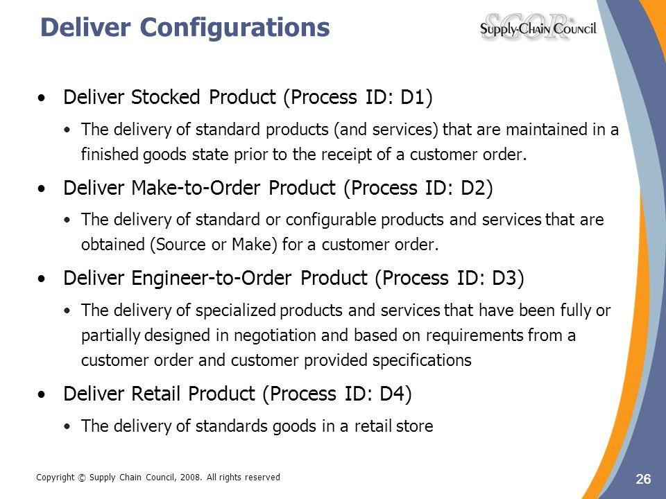 Deliver Configurations