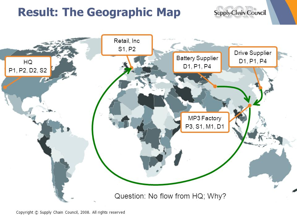 Result: The Geographic Map