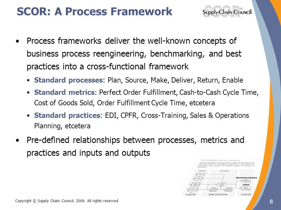 SCOR: A Process Framework