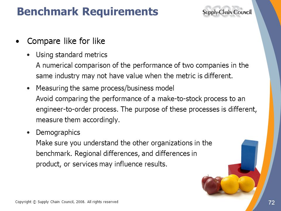 Benchmark Requirements
