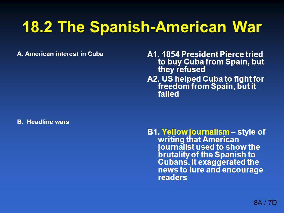 18.2 The Spanish-American War