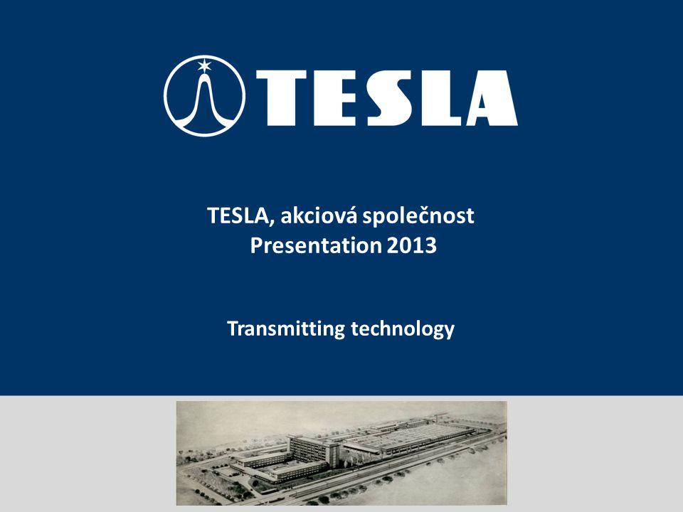 Prezentace portfolia TESLA, akciová společnost