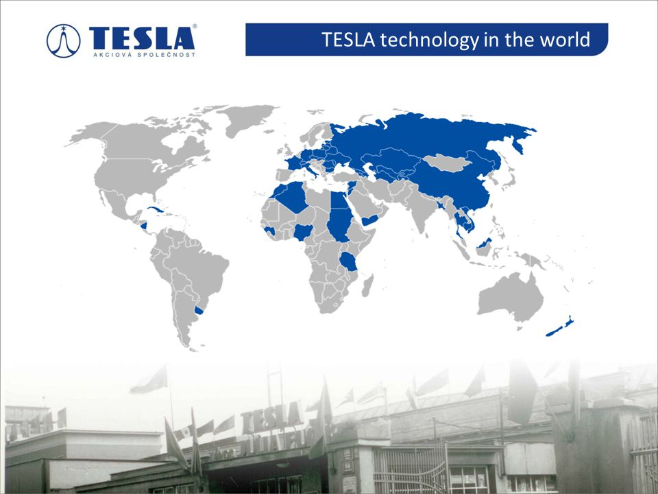 TESLA technology in the world