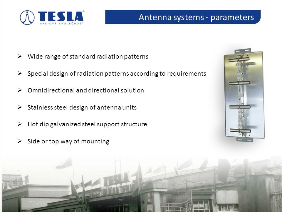 Antenna systems - parameters