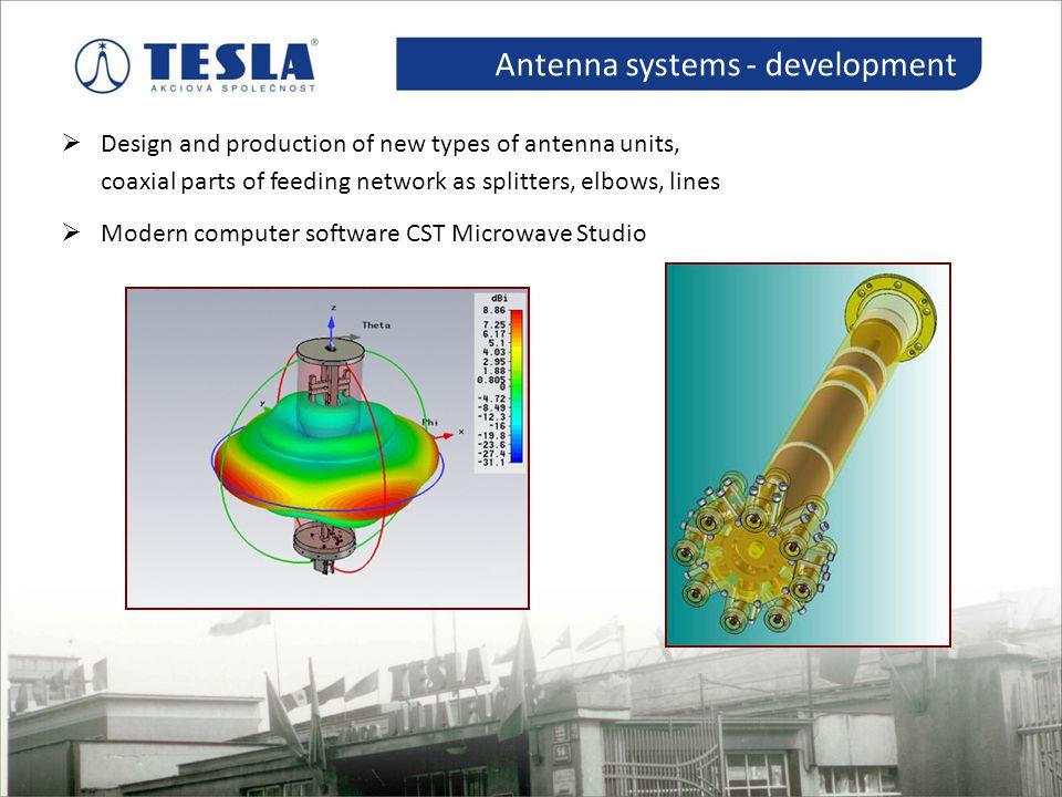 Antenna systems - development