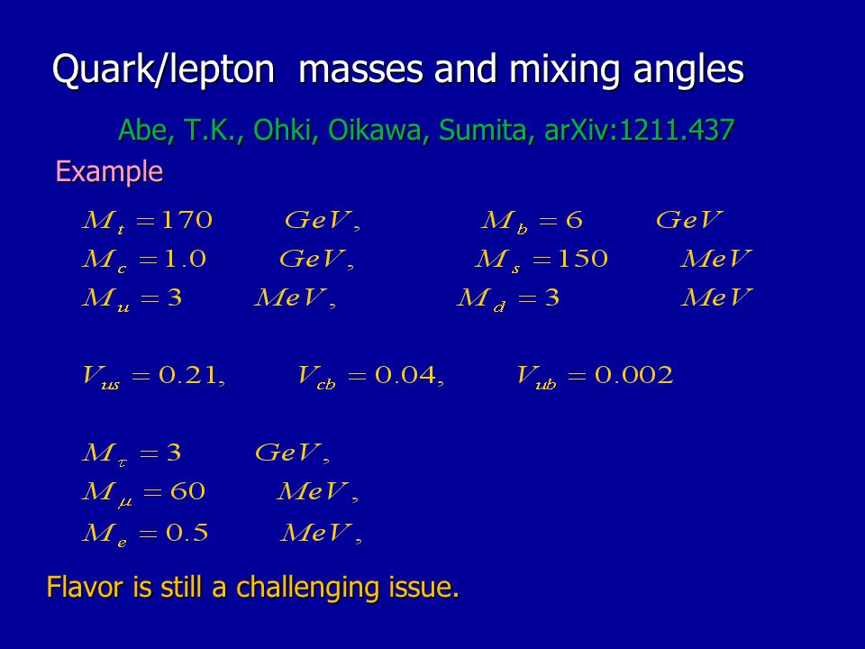 Quark/lepton masses and mixing angles