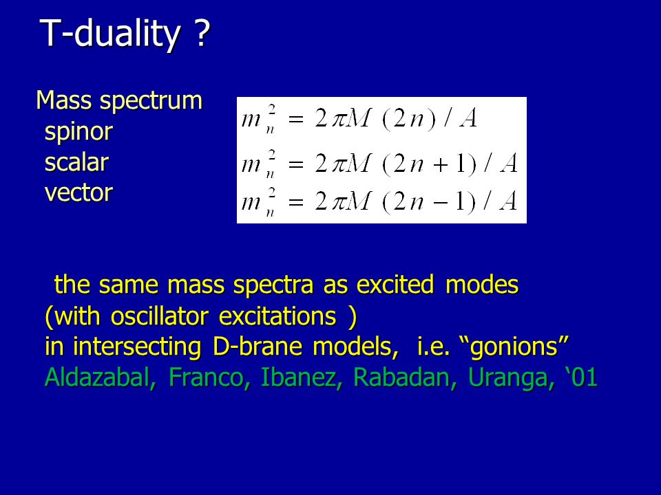 T-duality spinor scalar vector