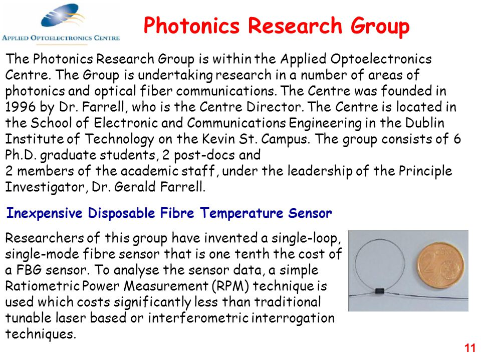Photonics Research Group