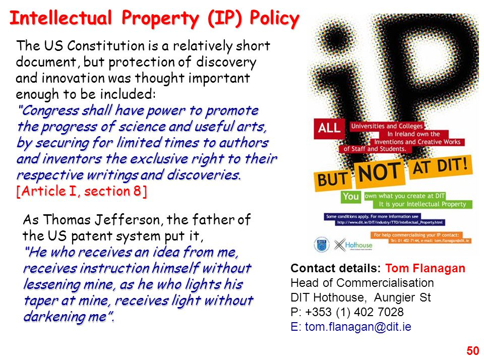 Intellectual Property (IP) Policy