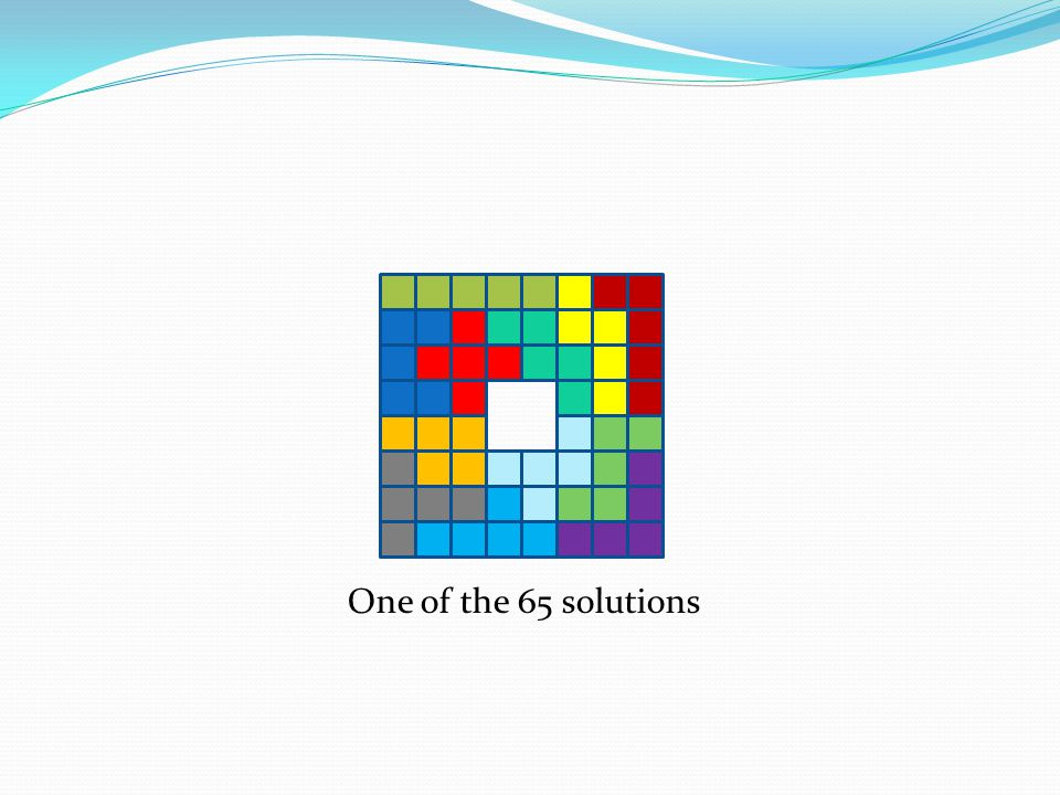 One of the 65 solutions