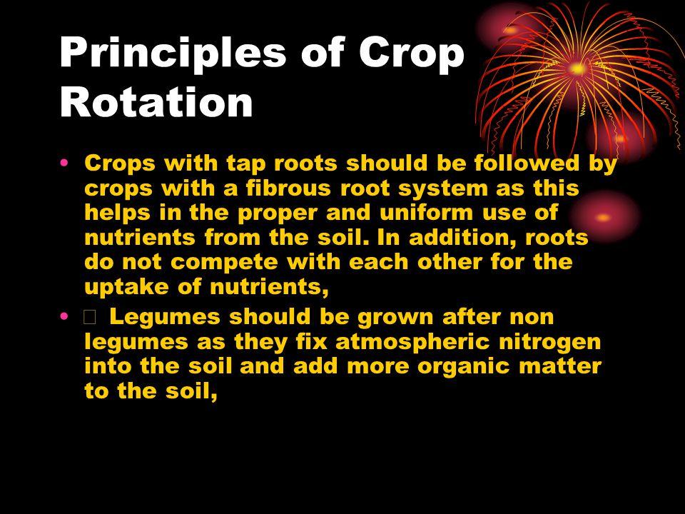 Principles of Crop Rotation