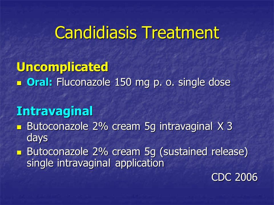 Candidiasis Treatment