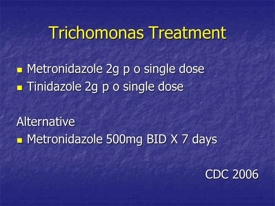 Trichomonas Treatment