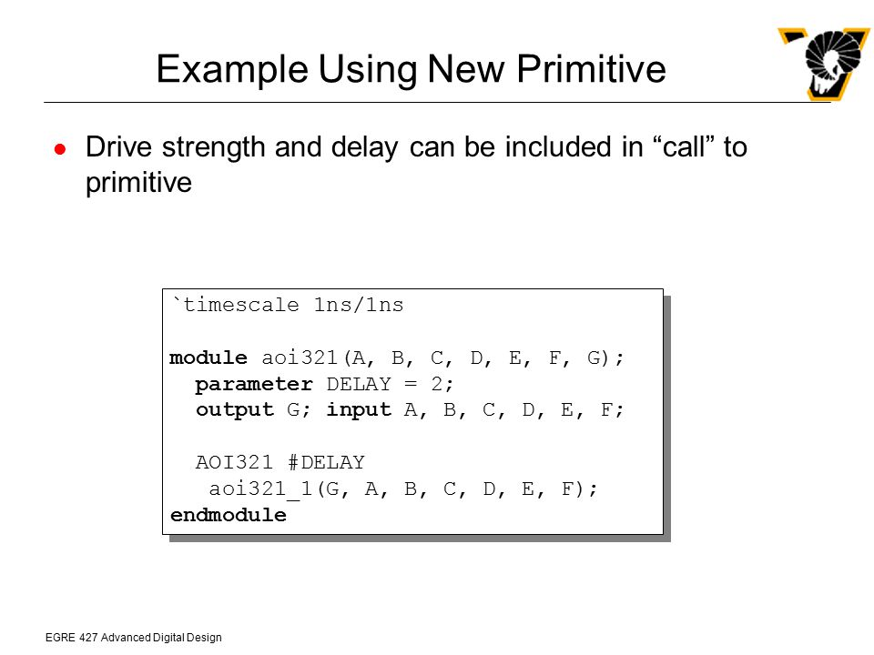 Example Using New Primitive