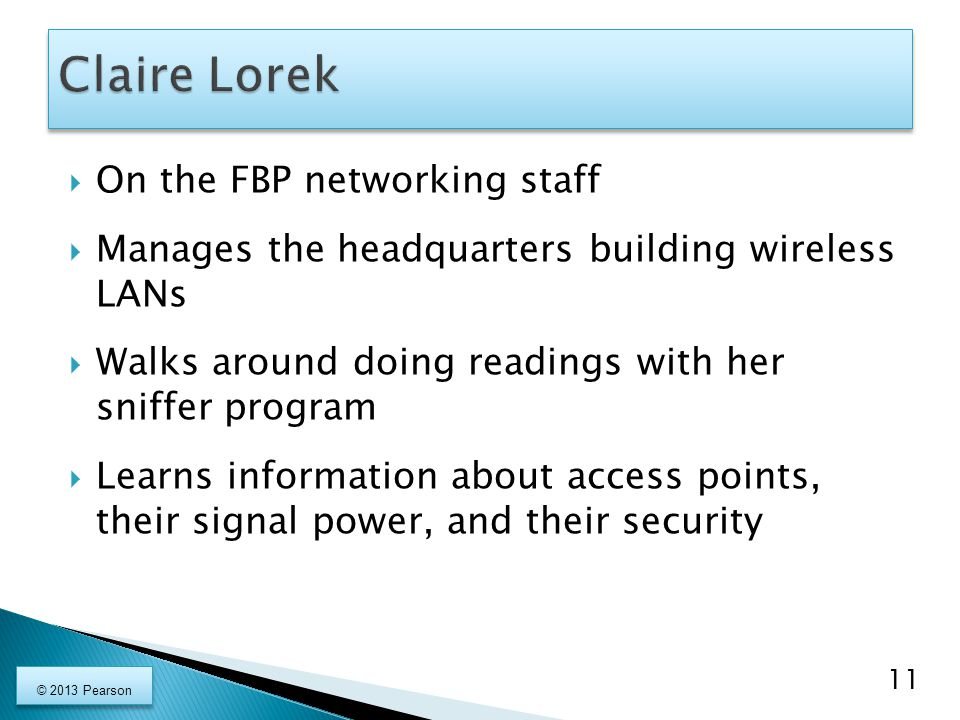 Claire Lorek On the FBP networking staff