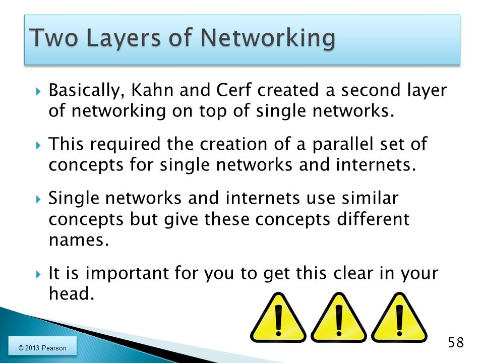 Two Layers of Networking