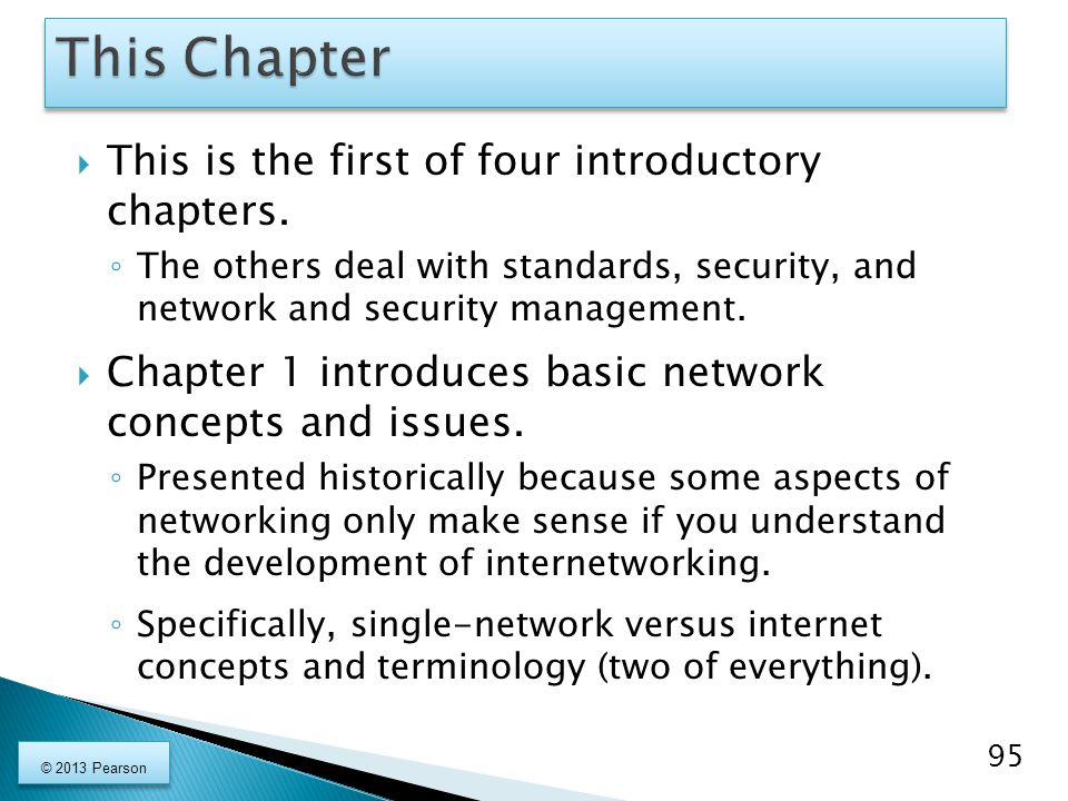This Chapter This is the first of four introductory chapters.