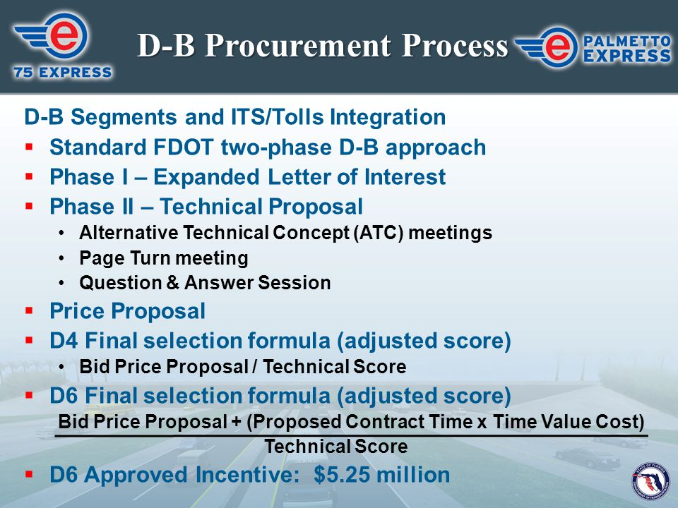 D-B Procurement Process