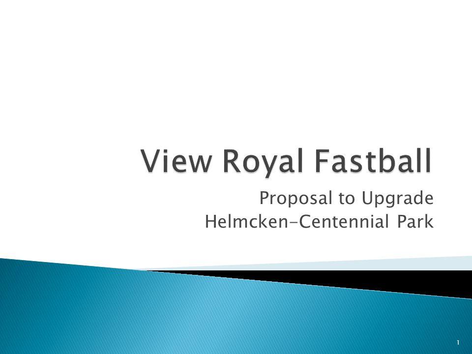 Proposal to Upgrade Helmcken-Centennial Park