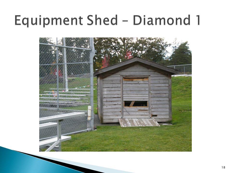 Equipment Shed – Diamond 1
