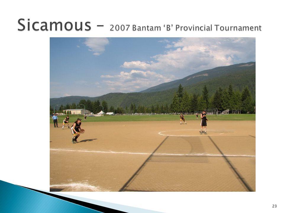 Sicamous – 2007 Bantam 'B' Provincial Tournament