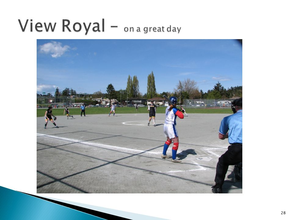 View Royal – on a great day