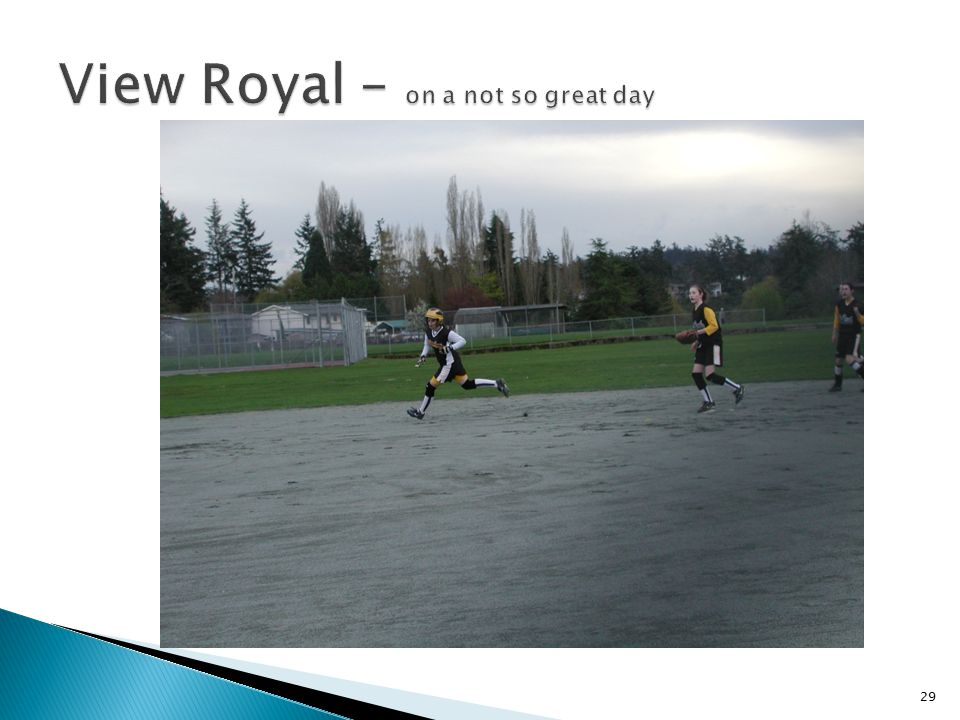 View Royal – on a not so great day