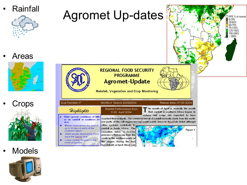 Agro-Meteorological Update