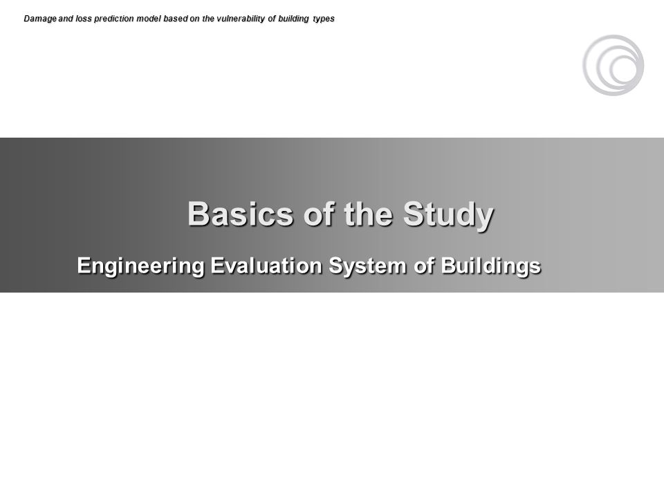 Engineering Evaluation System of Buildings