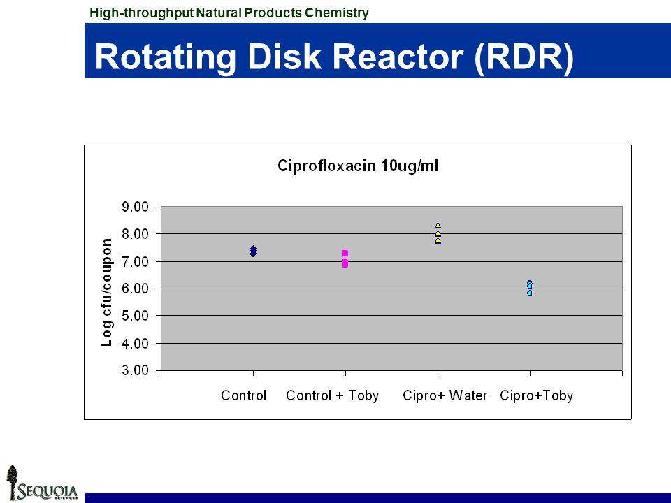 Rotating Disk Reactor (RDR)