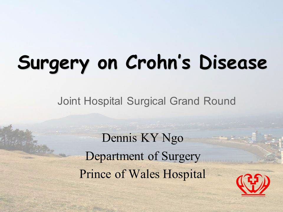 Surgery on Crohn's Disease