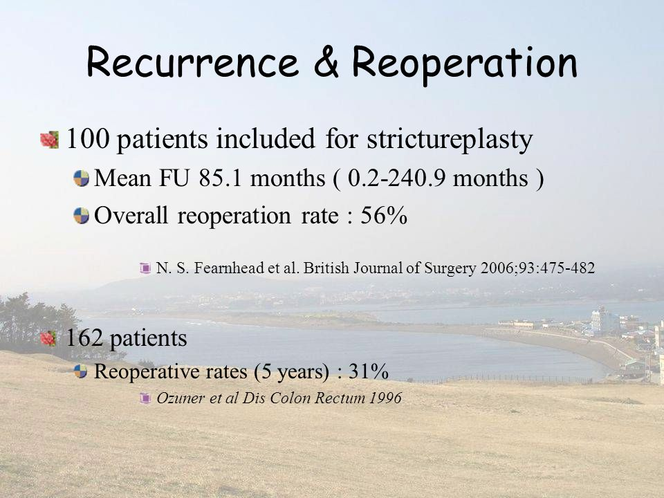Recurrence & Reoperation