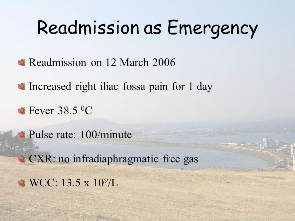 Readmission as Emergency